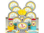 Ahoy Matey Deluxe Tableware Kit (Serves 8) - Party Supplies 9SIA0BS3ZC2025