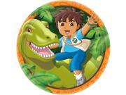 Diego's Biggest Rescue 9' Plates (Set Of 8) - Party Supplies 9SIABHU5A33529