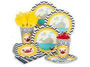 Ahoy Matey Standard Tableware Kit (Serves 8) - Party Supplies 9SIA0BS3Y42559