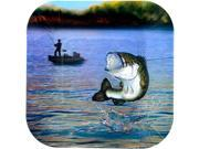 "Gone Fishin' 7"""" Plates-Square (8 Pack) - Party Supplies"" 9SIA0BS0Y66044"