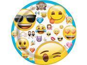 """Emoji 7"""""""" Cake Plates (8 Count)"""" 9SIA62V4WC0739"""