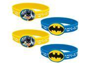 Batman Rubber Bracelet Favors (4 Count) 9SIA0BS49K3650