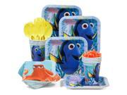 Finding Dory Standard Birthday Party Tableware Kit (Serves 8) 9SIA0BS47N9432