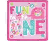 """One Wild Girl 1st Birthday 10"""""""" Luncheon Plates (8 Pack) - Party Supplies"""" 9SIA0BS2YX9682"""