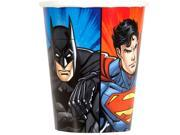 Justice League 9oz Cups (8 Count) 9SIA0BS49K3626