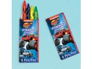 Blaze and the Monster Machines Crayons Favors - Party Supplies 9SIA0BS3U05704