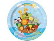 """Noah's Ark 9"""""""" Plates (8 Pack) - Party Supplies"""" 9SIA0BS3V17783"""