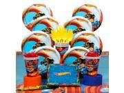 Hot Wheels Wild Racer Birthday Party Deluxe Tableware Kit (Serves 8) - Party Supplies 9SIA0BS44G8750