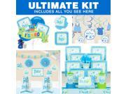 Welcome Little One Boy Baby Shower Ultimate Tableware Kit (Serves 8) 9SIA0BS4N30026