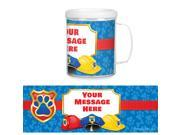 Pup Command Personalized Favor Mug Each