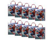 Spiderman Tote Bag (Set Of 10) - Party Supplies 9SIA0BS49K2472