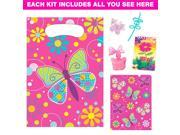 Butterfly Deluxe Favor Kit (for 1 Guest) - Party Supplies 9SIA0BS4SB0403