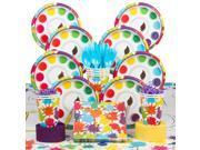 Art Party Deluxe Tableware Kit (Serves 8) 9SIA0BS49K4557