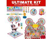 Circus First Birthday Ultimate Tableware Kit (Serves 8) 9SIA0BS53T5897