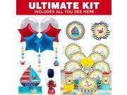 Ahoy Matey Ultimate Tableware Kit (Serves 8) - Party Supplies 9SIA0BS47X3960
