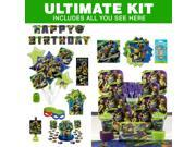 TMNT Birthday Party Ultimate Tableware Kit - Party Supplies 9SIA0BS3AX2203