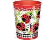 Lady Bug 16Oz Plastic Cup (Each) - Party Supplies 9SIA0BS12Z1058