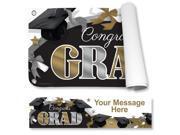 Festive Graduation Personalized Banner (Each) 9SIA0BS59F6608