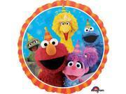 """Sesame Street 17"""""""" Balloon (Each)"""" 9SIA0BS5C96272"""