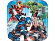"Avengers 9"""" Luncheon Plates (8 Pack) - Party Supplies"" 9SIABHU5905329"