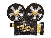 Lights, Camera, Action Foil Balloon 9SIA0BS5ST1429