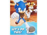 Sonic Boom Invitations 9SIA0BS5ST1436
