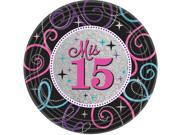 Mis Quince Anos Dessert Plates (8) 9SIA0BS5ST0228