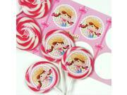 Pink Cowgirl Deluxe Lollipop Favor Kit 9SIA0BS5TD1738
