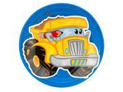 Construction Pals Dump Truck Dinner Plates 9SIA0BS5TD2262