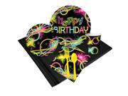 Glow Party 24 Guest Party Pack 9SIA0BS5U23545