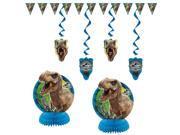 Jurassic World 7 Piece Decoration Set - Party Supplies 9SIA0BS33A8352
