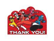 Power Rangers Dino Charge Thank You Notes (8 Pack) - Party Supplies 9SIA0BS2YX9410