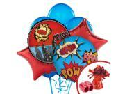 Superhero Balloon Kit (Each) - Party Supplies 9SIA0BS2YY0677