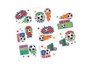Soccer Tattoo Favors (16 Pack) 9SIA0BS1BD7568
