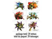 Ninja Turtles Tattoo Sheets (4 Sheets) 9SIA0BS12Z1107