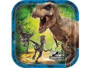 Jurassic World Dessert Plates (8 Pack) - Party Supplies 9SIABHU58N7322