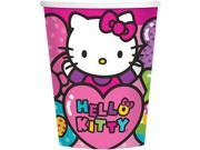 Hello Kitty Rainbow 9oz Cups (8 Pack) - Party Supplies 9SIA0BS2YY0574
