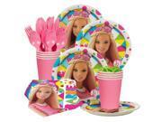 Barbie Sparkle Standard Birthday Party Tableware Kit - Party Supplies 9SIA0BS49K1128