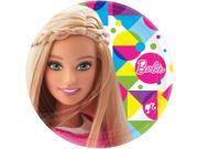 "Barbie Sparkle  9"""" Luncheon Plates (8 Pack) - Party Supplies"" 9SIABHU59H6602"