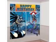 Batman Scene Setter Wall Decorating Kit (Each) - Party Supplies 9SIA0BS2YY0428