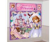 Sofia the First Wall Decorating Kit (Each) 9SIA0BS1BU6139