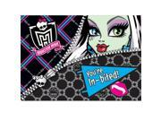 Monster High Invitations - Party Supplies 9SIA0BS0NC3854