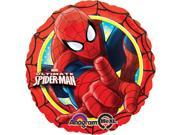 "Ultimate Spiderman Action 17"""" Foil Balloon (Each) - Party Supplies"" 9SIA0BS0NE0029"