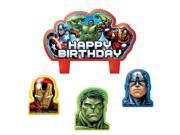 Avengers Birthday Candle Set (4 Pack) - Party Supplies 9SIA0BS2YY1272