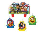 Paw Patrol Candle Set (4 Pack) - Party Supplies 9SIAD245A00945