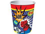 Superhero 9 Oz Cups (8 Pack) - Party Supplies 9SIA0BS2YX9381