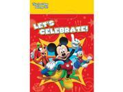 Mickey Mouse Loot Bags (8 Pack) - Party Supplies 9SIA0BS1BD8049