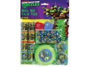 Teenage Mutant Ninja Turtle Mega Mix Favor Pack (48) Pieces Birthday Party 9SIA0BS31D0395