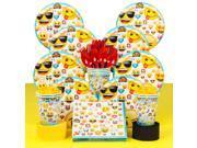 Emoji Deluxe Birthday Party Tableware Kit (Serves 8) 9SIA0BS6KE3585