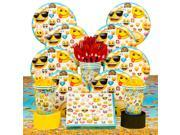 Emoji Deluxe Birthday Party Tableware Kit (Serves 8) 9SIA0BS6KE3585